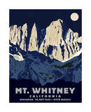 Mt Whitney (Night)