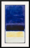 Untitled (Blue  Dark Blue  Yellow)