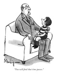 """""""You will find that time passes"""" - New Yorker Cartoon"""