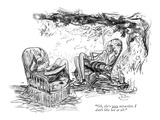 """""""Oh  she's very attractive I don't like her at all"""" - New Yorker Cartoon"""