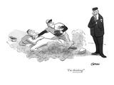 """""""I'm thinking!"""" - New Yorker Cartoon"""