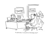 """""""I don't know I was just in a borrowing mood"""" - New Yorker Cartoon"""