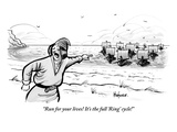"""""""Run for your lives! It's the full 'Ring' cycle!!"""" - New Yorker Cartoon"""
