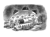 """Damn it  I'm a brain surgeon  not a rocket scientist!"" - New Yorker Cartoon"
