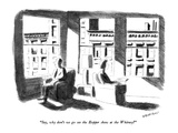 """Say  why don't we go see the Hopper show at the Whitney"" - New Yorker Cartoon"