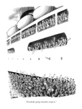 """Everybody's going somewhere except us"" - New Yorker Cartoon"