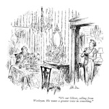 """""""It's our Oliver  calling from Wesleyan He wants a greater voice in somet…"""" - New Yorker Cartoon"""