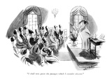 """I shall now quote the passages which I consider obscene"" - New Yorker Cartoon"