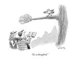 """""""It's a thongbird"""" - New Yorker Cartoon"""