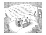 A police officer offers a perp a phone  saying  'You get one phone call or… - New Yorker Cartoon