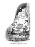""" A lot of it is just legal mumbo-jumbo"" - New Yorker Cartoon"