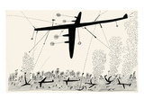 Bombing  South Pacific - New Yorker Cartoon