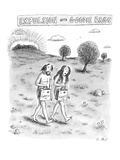 """Expulsion with Goody Bags"" - New Yorker Cartoon"