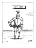 SPF 1 000' - New Yorker Cartoon