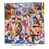 Les Demoiselles d'Amagansett - New Yorker Cartoon