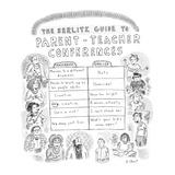 The Berlitz Guide to Parent-Teacher Conferences' - New Yorker Cartoon