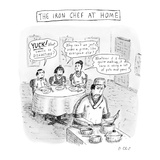 The Iron Chef At Home - New Yorker Cartoon