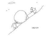 Business Sisyphus - New Yorker Cartoon