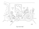 """I got it from eBay"" - New Yorker Cartoon"