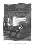 """Now read me the part again where I disinherit everybody"" - New Yorker Cartoon"