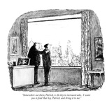 """""""Somewhere out there  Patrick  is the key to increased sales I want you t…"""" - New Yorker Cartoon"""
