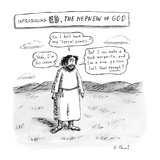 Introducing ED  The Nephew of God  - New Yorker Cartoon