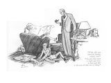 """""""What did you learn at Sunday school  son""""-""""Oh  just that truth is truth …"""" - New Yorker Cartoon"""