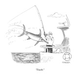 """Touché"" - New Yorker Cartoon"
