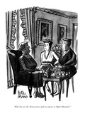 """""""Well  I'm sure Dr Kinsey never spoke to anyone in Upper Montclair"""" - New Yorker Cartoon"""