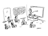 First addition  then subtraction  then multiplication  and now this!  Wher… - Cartoon