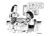 Just once I'd like to get past the War of 1812 by spring vacation' - Cartoon