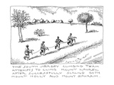 The South Jersey Climbing Team attempts to climb Mount Laurel after succes… - Cartoon