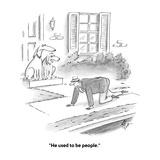 """He used to be people"" - Cartoon"