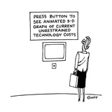 Press Button to See Animated 3-D Graph of Current Unrestrained Technology … - Cartoon