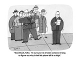 """""""Stand back  folks  I'm sure you've all seen someone trying to figure out…"""" - Cartoon"""