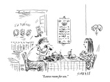 """""""Leave room for sex"""" - New Yorker Cartoon"""