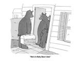 """She's in Baby Bear's bed"" - Cartoon"