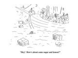 """""""Hey!  How's about some sugar and lemon"""" - Cartoon"""