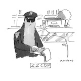 Z Z COP - New Yorker Cartoon