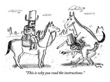 """This is why you read the instructions"" - New Yorker Cartoon"
