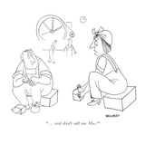 """   and don't call me Mac!"" - New Yorker Cartoon"