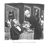 """May I inquire why there is no more Château Lafite"" - New Yorker Cartoon"