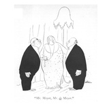 """Mr Meyer  Mr de Meyer"" - New Yorker Cartoon"