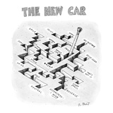 The New Car - New Yorker Cartoon