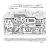 The Red-Light Accounting District - New Yorker Cartoon