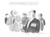 The Swiss Banker's Convention - New Yorker Cartoon