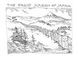 The Great Screen Of Japan - New Yorker Cartoon