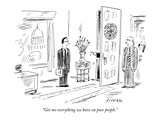 """Get me everything we have on poor people"" - New Yorker Cartoon"