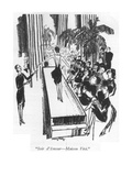 """Soir d'Amour—Maison Vivi"" - New Yorker Cartoon"