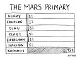 """Mars Primary"" - New Yorker Cartoon"